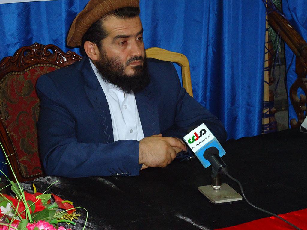 نشست مطبوعاتی رهبری نهضت اسلامی افغانستان در رابطه به تأسیس شورای فرهنگی حامیان قدس شریف