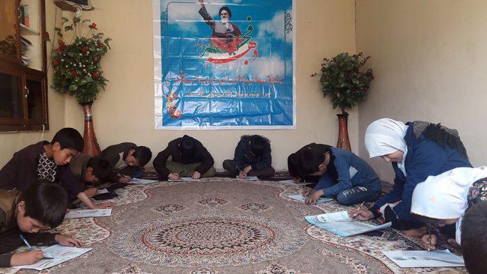 سیمای انقلاب اسلامی ایران به روایت هنر نقاشی (توسط نونهالان انقلاب اسلامی افغانستان)