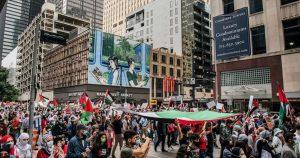 تظاهرات گسترده در سرتاسر جهان در حمایت از غزه