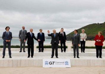 اولین روز نشست سران گروه هفت بر مقابله با شیوع کرونا، تغییرات اقلیمی و احیای اقتصاد جهانی تمرکز داشت