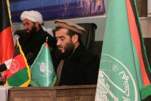 سخنرانی مولوی محمد مختار مفلح در کنفرانس تروریزم و افراط گرایی بزرگترین چالش جهان اسلام و افغانستان