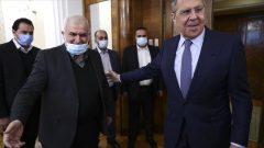 دیدار لاوروف با هیئت اعزامی حزب الله لبنان در مسکو