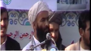 مولوی حبیب الله حسام استاد دانشگاه و رئیس شورای اخوت اسلامی افغانستان