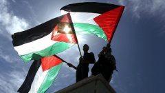 تظاهرات مردم کرانه باختری در حمایت از اسرای فلسطینی در بند اسرائیل