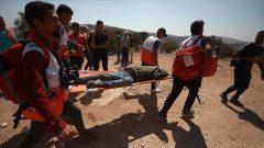 شمار مجروحان حمله نظامیان اسرائیل به فلسطینیان به ۶۴ نفر رسید