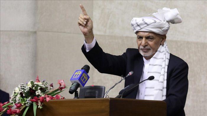 غنی: مردم افغانستان در برابر تجاوز آشکار قرار گرفته است