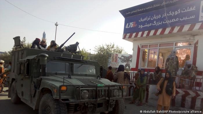 سخنگوی طالبان در قندوز از آلمان درخواست کمک کرد